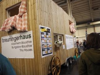 Holzhaus auf Rädern